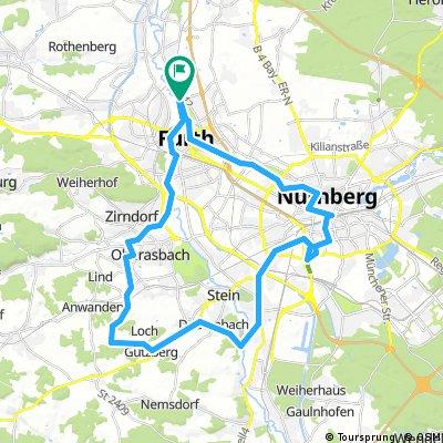 Fürth-Nürnberg-Gerasmühle