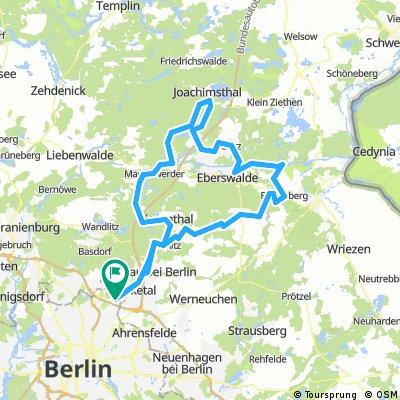 RTF 150 km Zur Schorfheide 2017