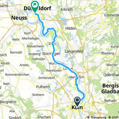 Köln - Düsseödorf