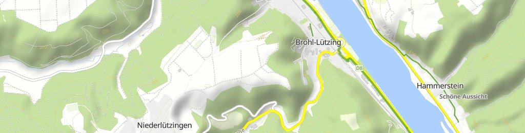 Kurze Radrunde durch Brohl