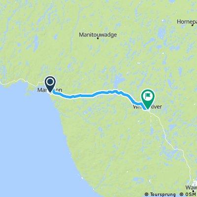 Jour 25 Marathon White River