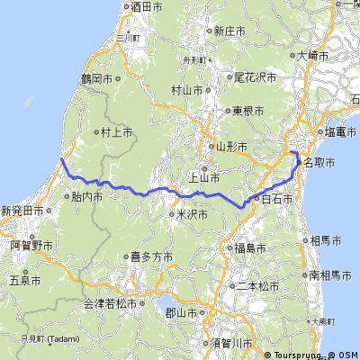 Cycling routes and bike maps in and around Sendai Bikemap Your