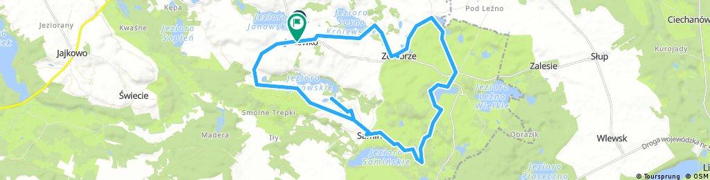 Janowko Bike 02 - 25 km Lezno