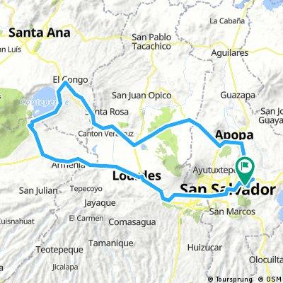 Ruta Lago de Coatepeque - Izalco