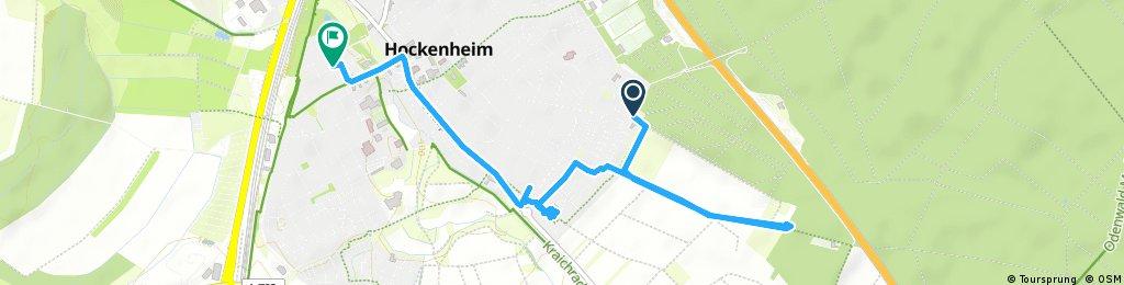 Schnelle Radrunde durch Hockenheim