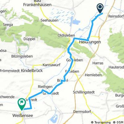 ART 01 - Bretleben - Weißensee 26,2km