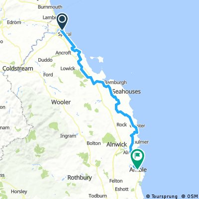 E2L Day 3 - Berwick-upon-Tweed to Amble
