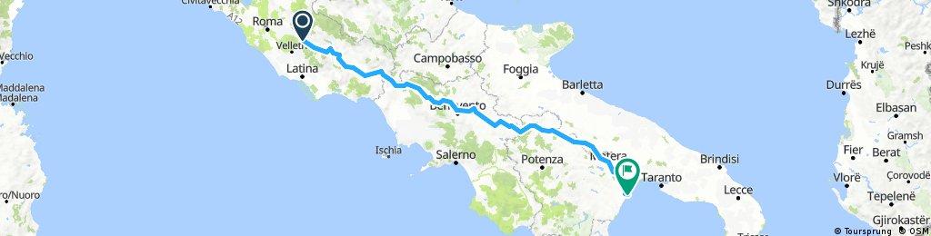 Valmontone - Metaponto