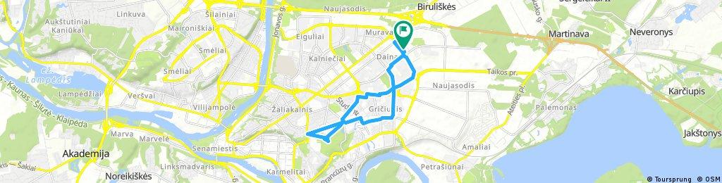 bike tour through Kaunas