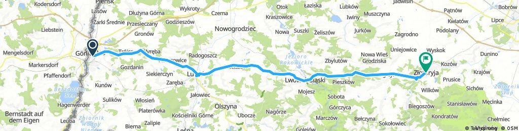2017.05.03 Poland   Zgorzelec to Zlotoryja