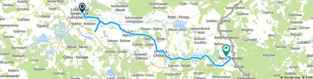 2017.05.01 Germany | Lübbenau to Forst