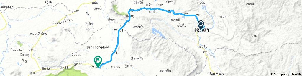 2) Xecong - Thateng - Paksong