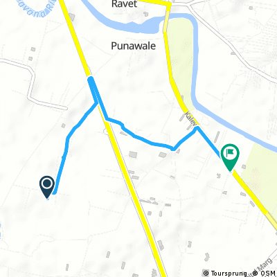 Short bike tour from Kate wasti to Punawale