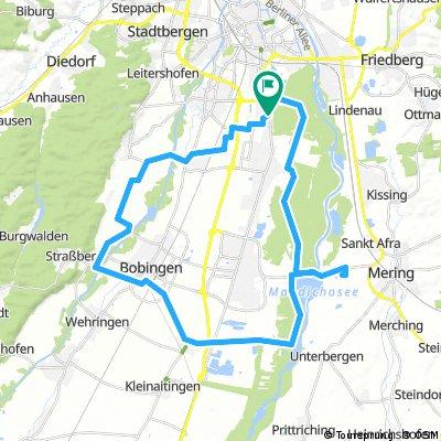 E-Bike Augsburg, Bobingen, Friedenau