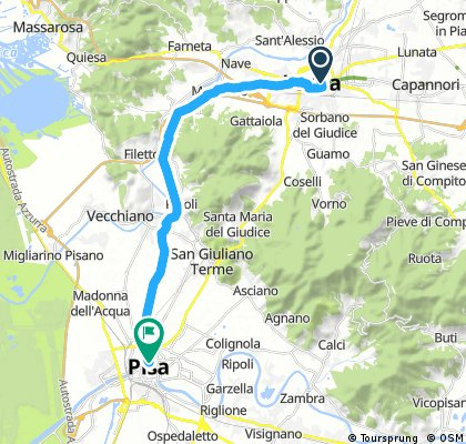 Lucca to Pisa