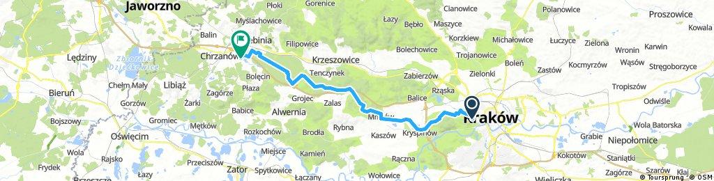 Rekreacyjny Rajd Kraków-Trzebinia 2017