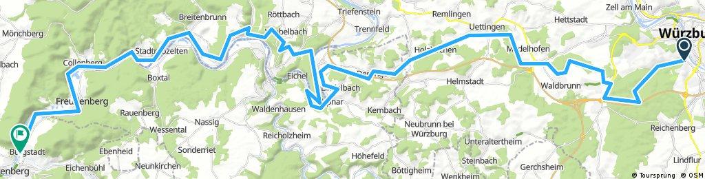 Würzburg-Bürgstadt für MTB Mai 2017