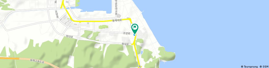 Brief ride from Sokcho to Gangneung