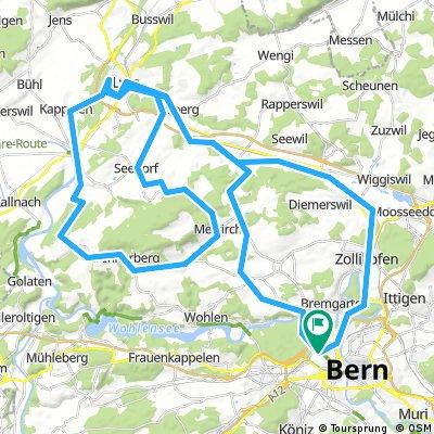 084 Bern - Lyss - Frienisberg - Aarberg - Bern