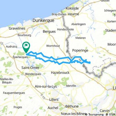 La boucle des Monts de Flandres