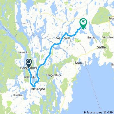A1 Bengtsfors - Östensby