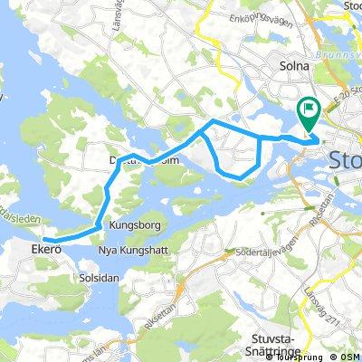 Kungsholmen-Drottningholm-Ekerö