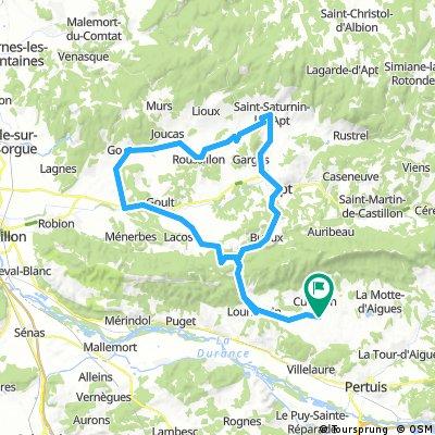 Cucuron-St.Saturnin-les-Alpes-Gordes