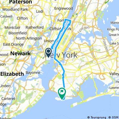 NYC Bike Marathon 2017