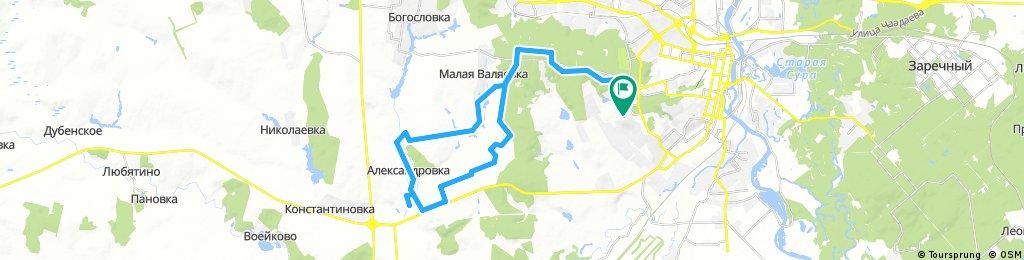 Александровка-короткий