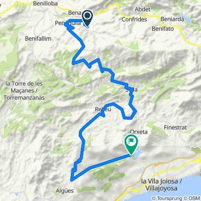 RUTA 18: Alcoleja-Aitana SP-Sella-Relleu-Orxeta