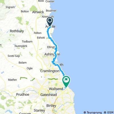 E2L Day 5 - Amble to South Shields