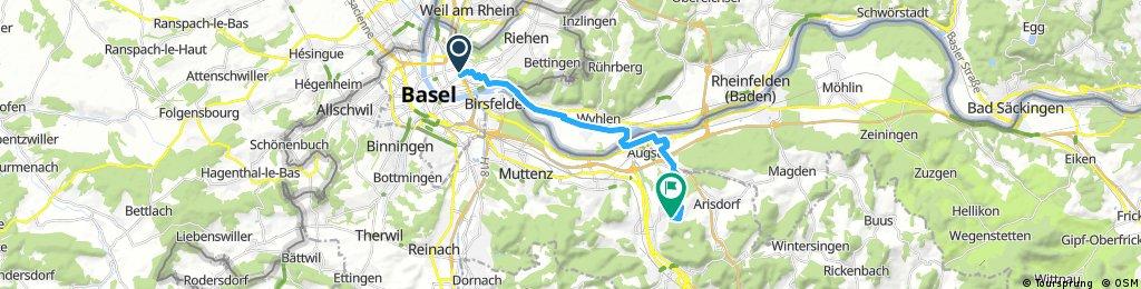 Sunday Basel station to b&b