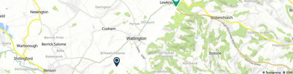 Short ride through Watlington