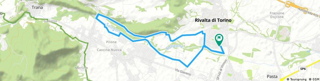 Rivalta-Sangano e ritorno