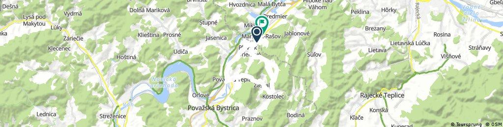 Okruh Rašov - Plevnik dolina - Kostolec - Pov. Tepla - Rašov