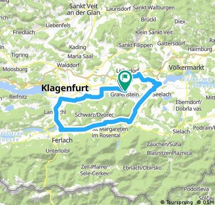Grafenstein - Maria Rain - Tainach - Thon