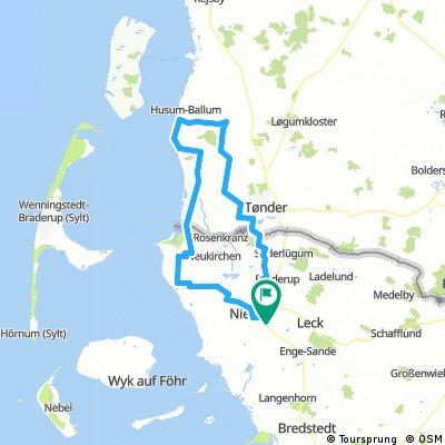 Lindhol - Ballum - Moegeltonder - Aventoft - Lindholm