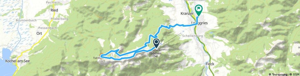 Wanderung Lenggries - Brauneck - Benediktenwand