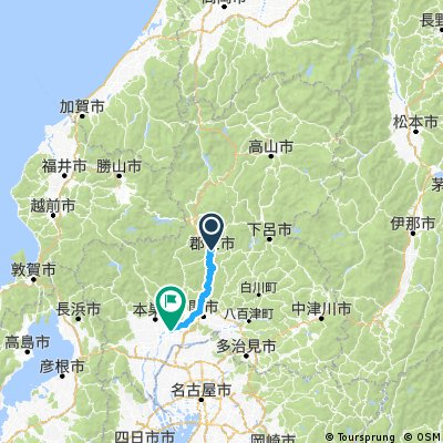Alt Takayama to Gifu - Day 12