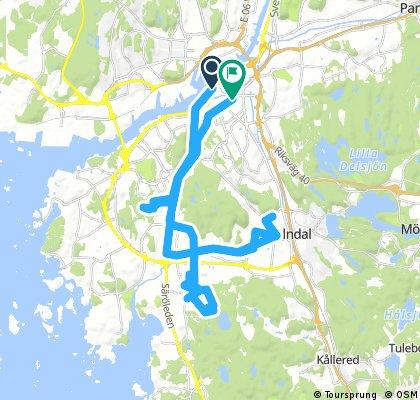 #Vattentourn via Kaverös, Kobbehall och Sisjön.