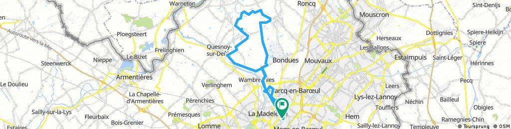Ride around Lille