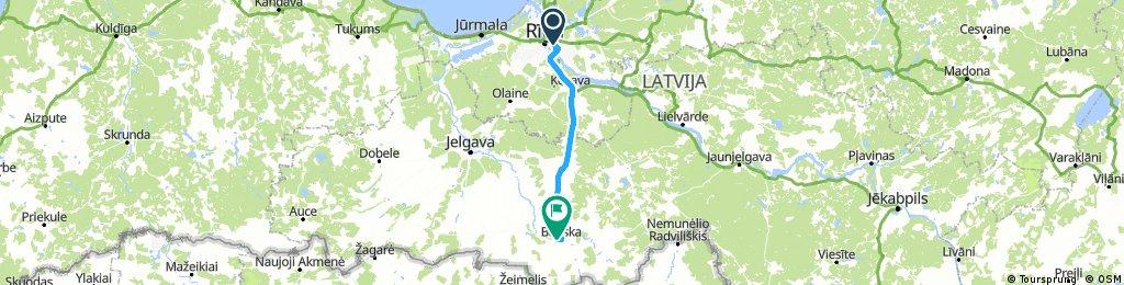 Dzień szósty: Rīga - Bauska
