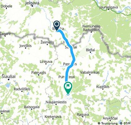 Dzień siódmy: Bauska - Piniava
