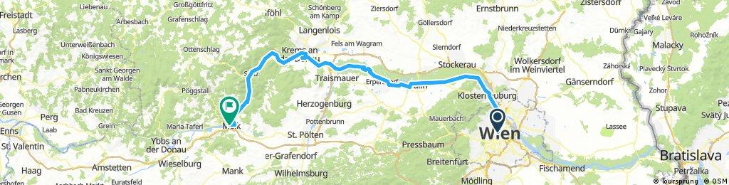 Day 4  Vienna to Melk