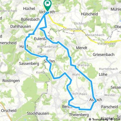 Uckerath - Asbach - Uckerath