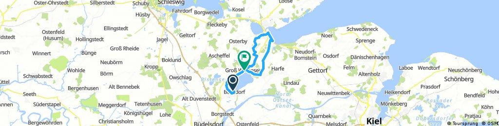 Wittensee-Eckernförde und Zurück