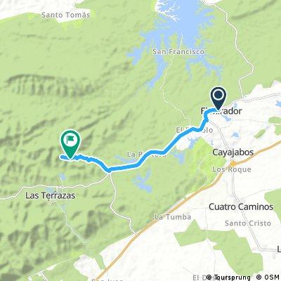 Track 2a El Mirador-Las Terrazas