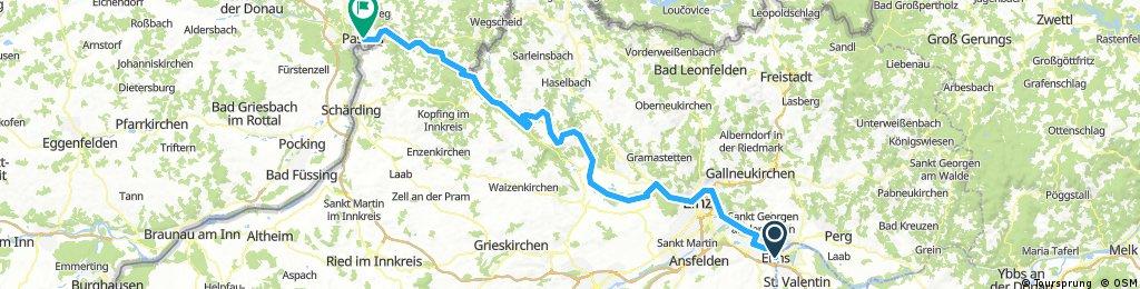 Day 6  Enns to Passau