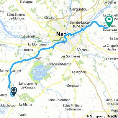 SNCF Etape 6 Le Loroux Bottereau
