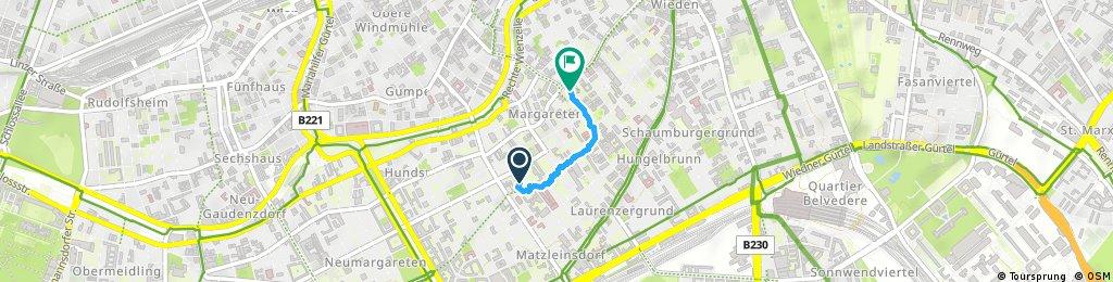Schnelle Ausfahrt vom 10. Mai, 12:55